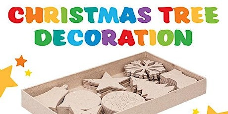 Decorate your own Christmas Tree Trinkets tickets