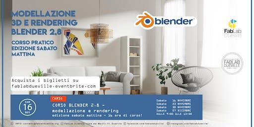 Corso Blender 2.8 - edizione sabato mattina