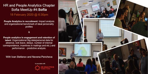 HR & People Analytics Chapter Sofia MeetUp #4 People analytics  - smarter, strategic and informed talent decisions