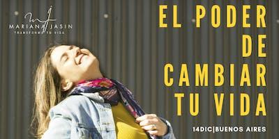 TALLER PRESENCIAL El Poder de Cambiar tu Vida  14 de Dic.   Buenos Aires