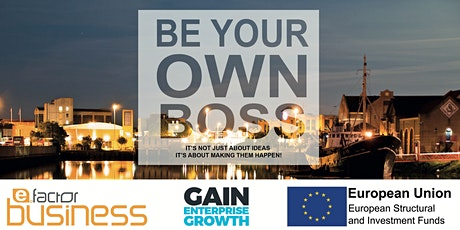 Be Your Own Boss Workshop tickets