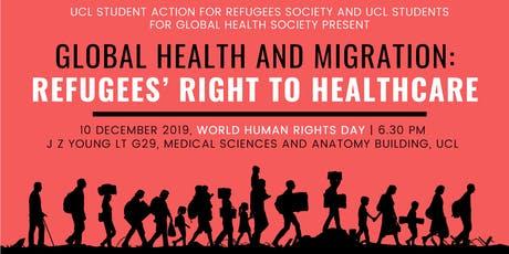 Global Health and Migration: Refugees' Right to Healthcare  tickets