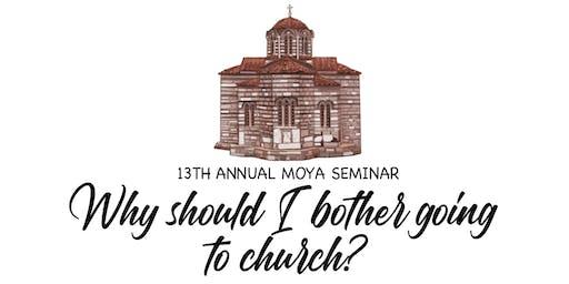 Macedonian Orthodox Youth of Australia Seminar