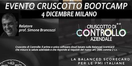 BOOTCAMP CRUSCOTTO DI CONTROLLO, Milano, 4 dicembre biglietti