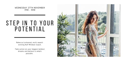 Step in to your personal potential with Rebecca Lockwood