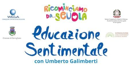 Educazione sentimentale con Umberto Galimberti biglietti
