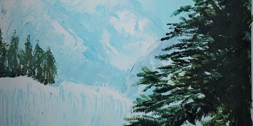 Paint Party - Winter Wonderland