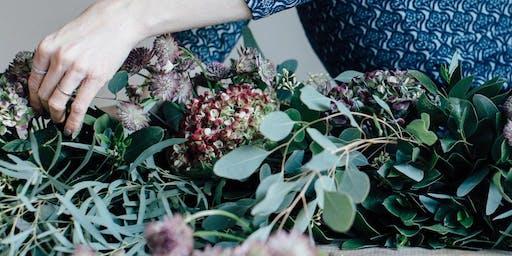 Wreath Making Workshop at Joules of Stratford Upon Avon