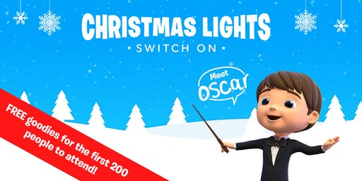 Christmas lights at Smyths Toys Superstores Basingstoke!
