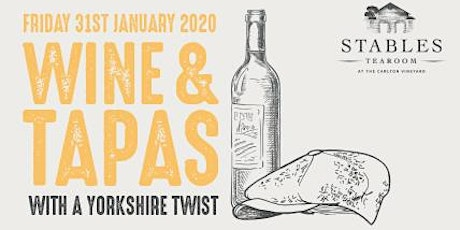 Wine & Tapas Evening with a Yorkshire Twist tickets