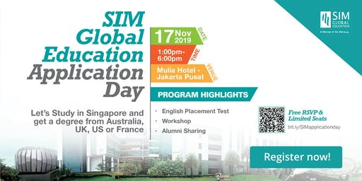 Study in Singapore: Free Entry - Consultation with SIM!
