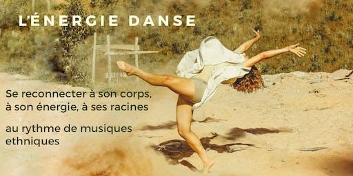 L'ENERGIE DANSE, danse de l'être, du corps et de la joie