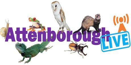 Attenborough Live! tickets