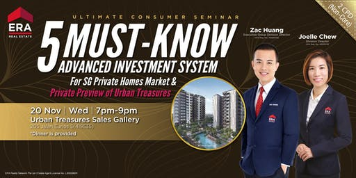 [UCS] 5 MUST-KNOW Advanced Investment System For SG Private Homes Market