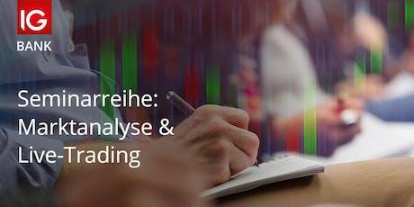 Marktanalyse & Live-Trading Tickets