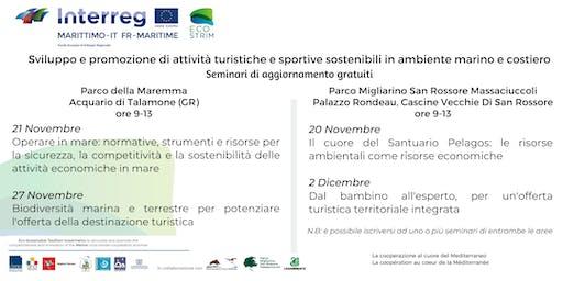 Competitività e sostenibilità delle attività economiche del mare (Talamone)