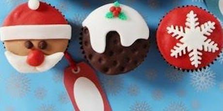 Christmas Cupcake Design Workshop tickets