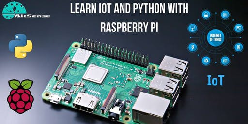 Learn IoT and Python with Raspberry Pi