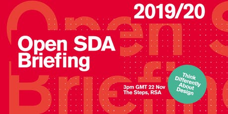 RSA Student Design Awards: Open Briefing tickets