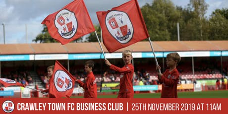 Crawley Town Business Club Networking Event - November tickets