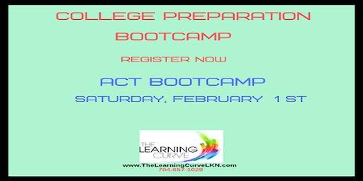 ACT Bootcamp, Saturday, February 1, 2020