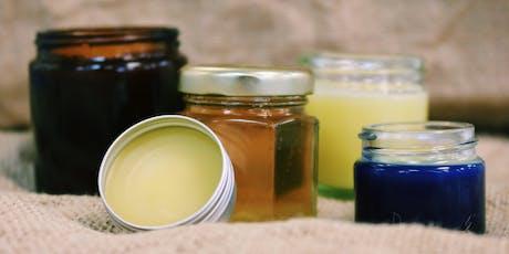 Bee Garden Cosmetics Course / Cwrs Cosmetigau'r Ardd Wenyn tickets