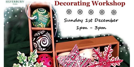 Ceramic Christmas Bauble Painting Workshop at Silverburn Park