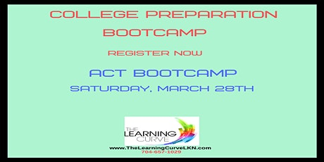 ACT Bootcamp, Saturday, March 28, 2020 tickets