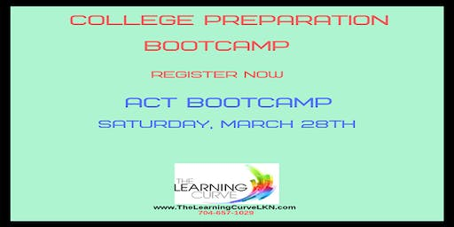 ACT Bootcamp, Saturday, March 28, 2020