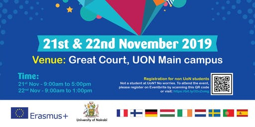 Study in Europe Fair at the University of Nairobi