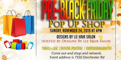 Pre-Black Friday Pop Up Shop