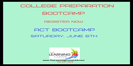 ACT Bootcamp, Saturday, June 6, 2020 tickets