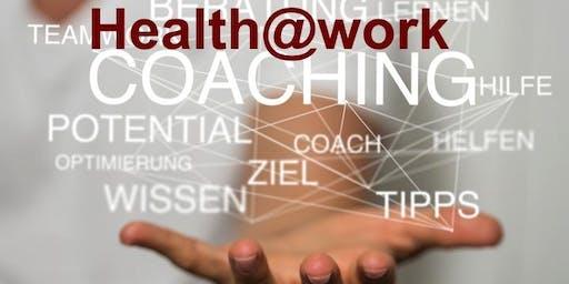 Health@work – DEIN Coaching Tag für (d)eine gesunde Work-LIFE-Balance