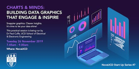 Charts & Minds: Building Data Graphics that Engage & Inspire  - NovaUCD Start up Series #7 tickets