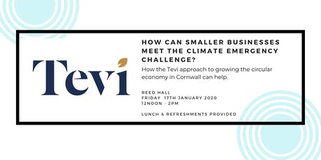 The role of smaller businesses in meeting the climate emergency challenge tickets