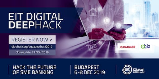 Hack the future of SME banking in Budapest| EIT Digital DeepHack