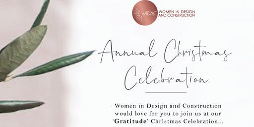 "Women in Design & Construction VIC ""Gratitude"" Christmas Networking Event!"