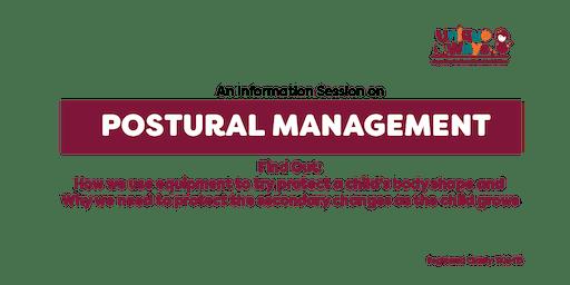 Postural Management Information Session