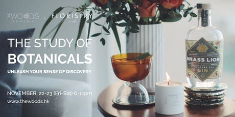 The Woods Nomadic Pop-Up Cocktail Bar | The Study of Botanicals tickets