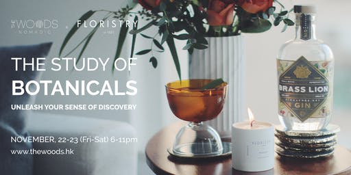 The Woods Nomadic Pop-Up Cocktail Bar | The Study of Botanicals
