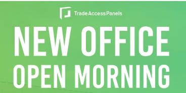 Trade Access Panels Open Morning