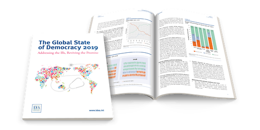 Stockholm launch of the Global State of Democracy Report 2019