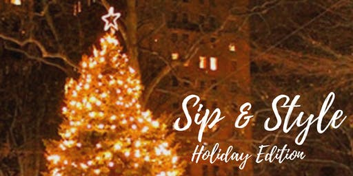 Sip & Style Holiday Edition: Blowouts, Bubbles, & Makeup