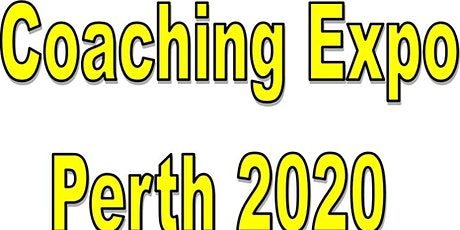 Perth Coaching Expo 2020 tickets