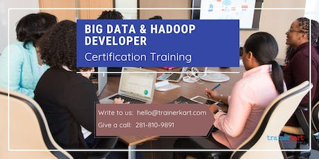 Big data & Hadoop Developer 4 Days Classroom Training in Trenton, ON tickets