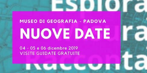 MUSEO DI GEOGRAFIA Padova: NUOVE DATE!