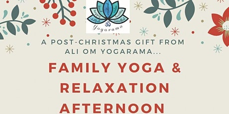 Family Yoga & Relaxation Afternoon tickets