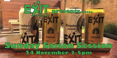 Exit Brewing's Sunday Saison Session tickets