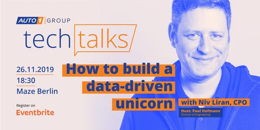 How to build a data-driven unicorn - Episode No. 1