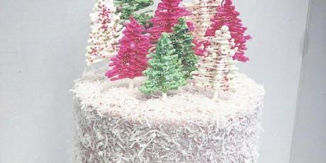 Christmas Tree Cake Decorating Class tickets